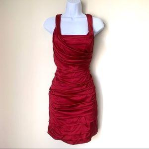 Express Silk Cocktail Dress